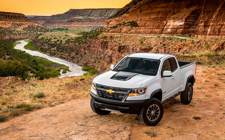 Chevrolet colorado в пустыне